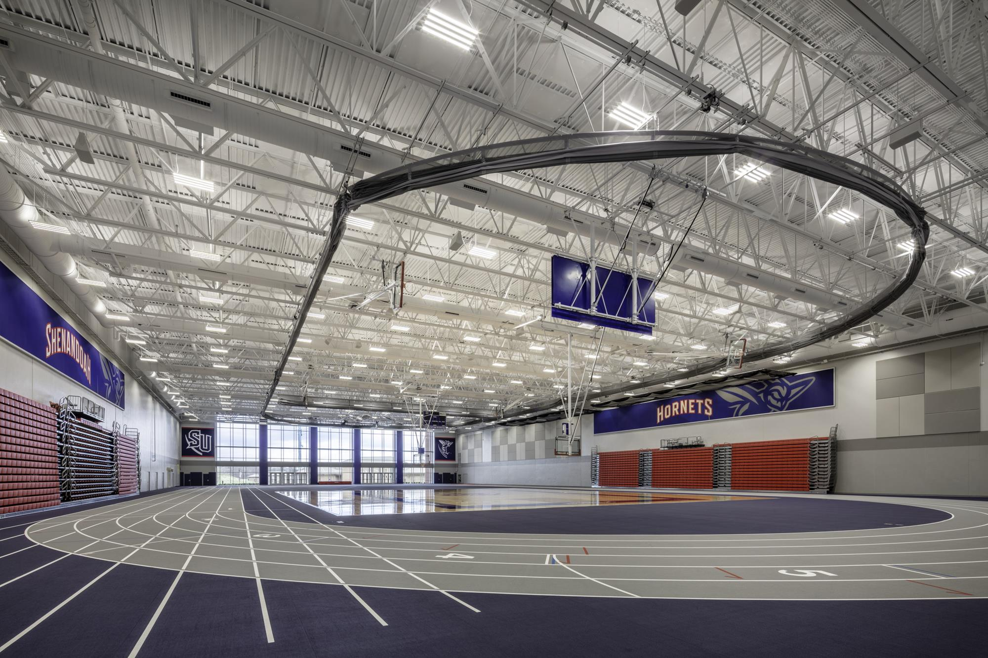 James R Wilkins Jr Athletics Events Center Facilities Shenandoah University